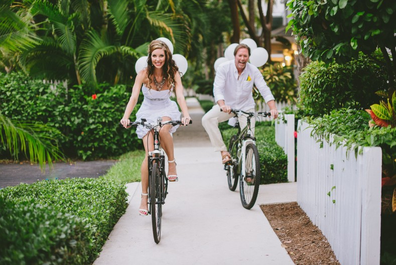 bicycle wedding for two