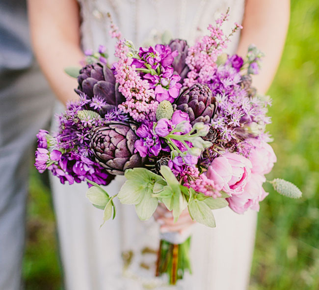 More Simple And Understated It Is Still Most Definitely A Wow Factor Very Much Roved To Springtime Wedding Inspirations Source Bridal Bouquet Lilacs