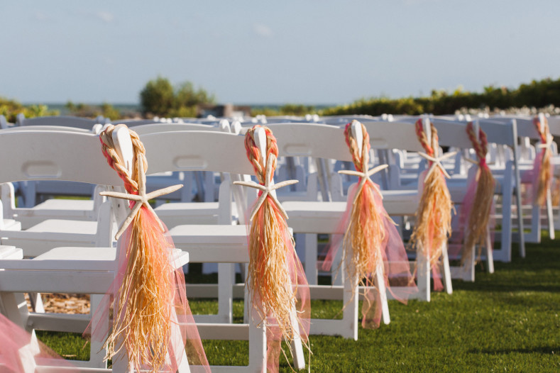 diy ceremony chairs