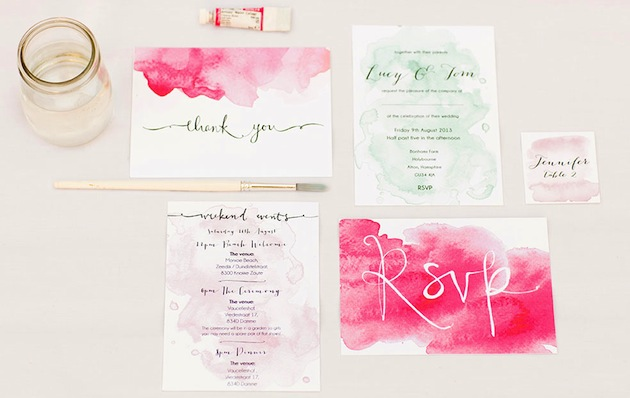 12 Awe-inspiring & Artful Wedding Invitations