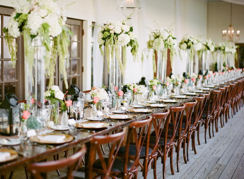 The Perfect Wedding Reception Table