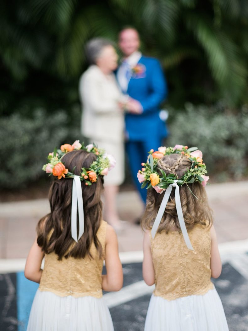 intimate garden wedding key west