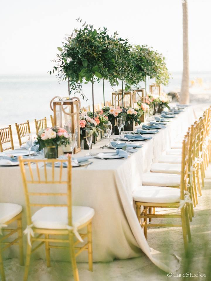 A truly magical destination wedding reception in the Florida Keys - http://DestinationWeddingStudio.com